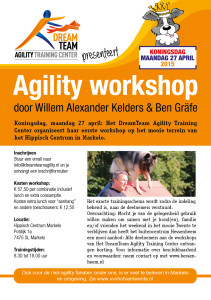 Agility workshop 27-4-2015